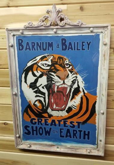 BARNUM AND BAILEY GREATEST SHOW ON EARTH ART