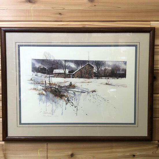 """ARTWORK - """"BROWN COUNTY REVISITED"""" BY LUKE BUCK"""