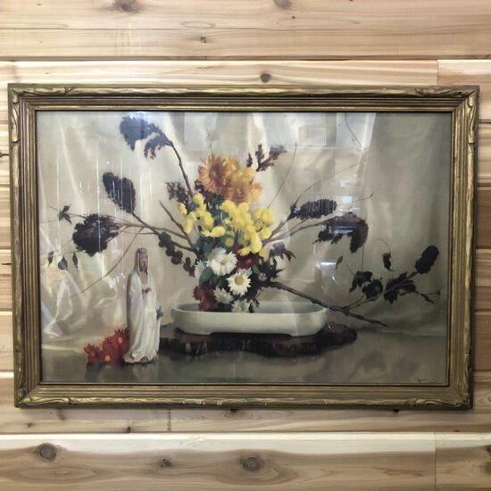 "ARTWORK - ""THE ORIENTAL BOWL"" PRINT"