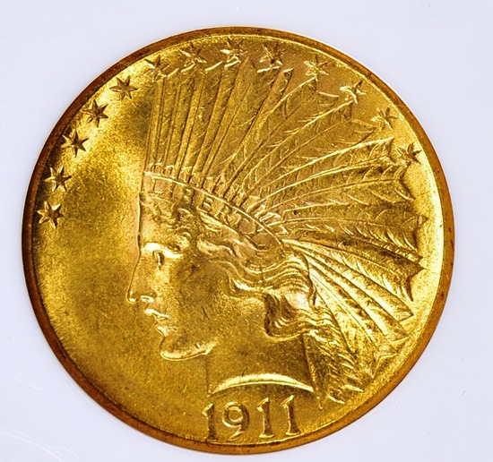 RARE COIN & CURRENCY AUCTION #38