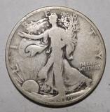 1919 WALKER HALF DOLLAR G/VG