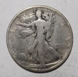 1923-S WALKER HALF DOLLAR VG