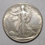 1939 WALKER HALF DOLLAR XF/AU