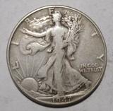 1947 WALKER HALF DOLLAR F/VF