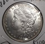 1880 MORGAN DOLLAR MS-64