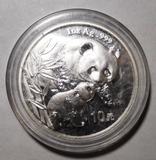 2004 10 YEN PANDA 1 OZ. SILVER