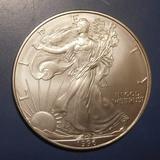 1996 AMERICAN SILVER EAGLE UNC