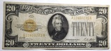 1928 $20.00 GOLD CERTIFICATE XF