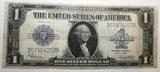 1923 $1.00 SILVER CERTIFICATE VF