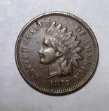 1875 INDIAN CENT AU-55