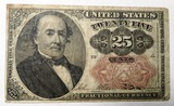 1874 TWENTY FIVE CENT FRACTIONAL NOTE