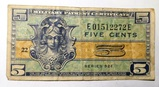 SERIES 521 MILITARY PAYMENT CERTIFICATE VF