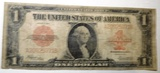 1923 $1.00 LEGAL TENDER RED SEAL NOTE VG/FINE
