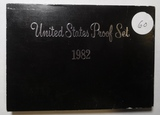 LOT OF SEVEN 1982-S PROOF SETS