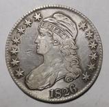 1826 BUST HALF DOLLAR VF