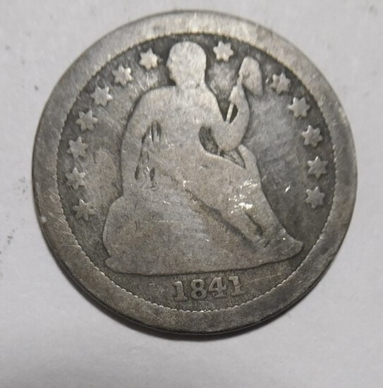 1841-O LIBERTY SEATED DIME GOOD