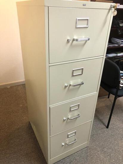 Letter 4-drawer File Cabinet