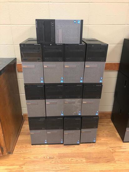 13 OptiPlex 3010 computers