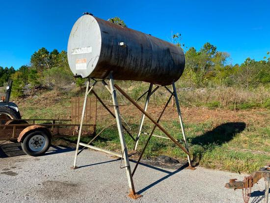 Gravity Flow Fuel Tank on Stand