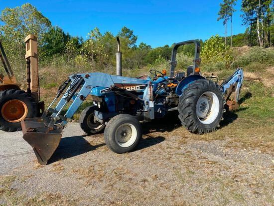 Item # 759 '92   Isabella   Ford 3930 Tractor Tractor 2400 QT Attachment