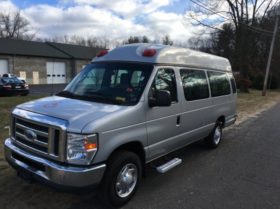 2011 Ford E250 Cargo Van with Lift