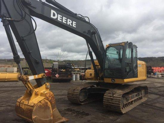 2010 John Deere 160DLC Excavator