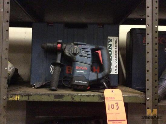 Bosch RH328VCQ electric rotary hammer with case