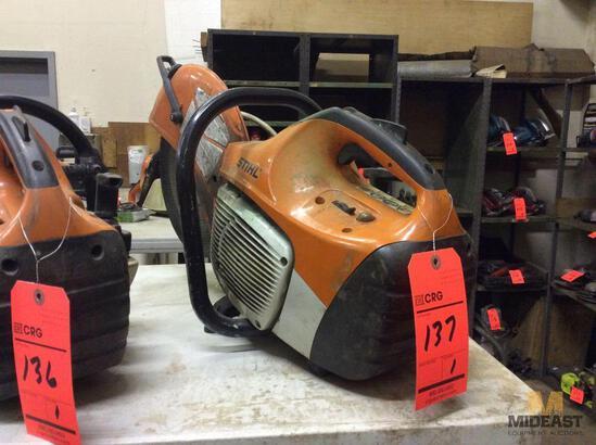 """Stihl TS420 14"""" gas chop/Cut-Off saw"""