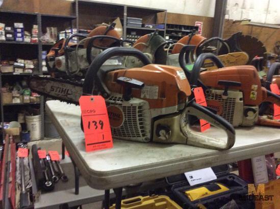 Stihl MS362C gas chain saw