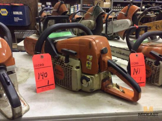 Stihl MS290 gas chain saw