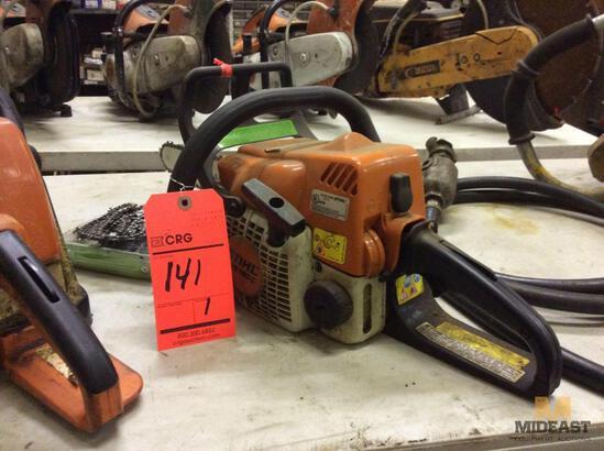 Stihl MS180C gas chain saw