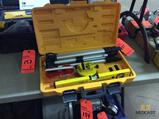 Johnson portable laser level with tripod and case