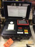 Thomas VMS-400 Seismograph w/Printout, (2) Geophones, (1) microphone and AC charger