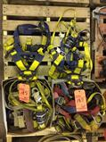 Lot of safety harnesses and 12volt boat trailer winch