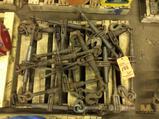 Lot of ass't safty harnesses and 12 volt boat trailer winch