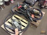 Lot of (3) asst concrete vibrators