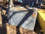 3 foot X 5 foot steel fuel storage tank with electric pump