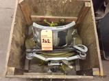 H and M G12 pipe beveling clamp, 14 inch inside diameter with wood case