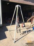 Miller confined space tripod with hoist and harness