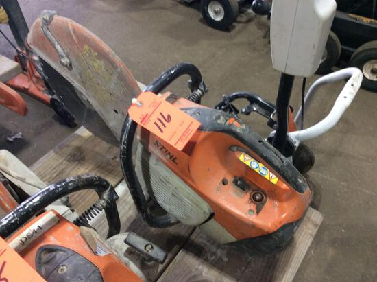 Stihl TS410 gas chop / cut off saw