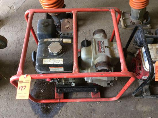 MultiQuip QP-3TH portable water / trash pump, Honda GX250 motor, 3 in, 3 out