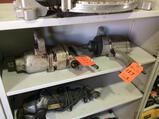 Lot of (2) heavy duty 1 inch pneumatic impact guns