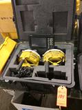 Trimble GPS (2) MS992 GNSS receivers with digital display mn CB460 with case and excavator and
