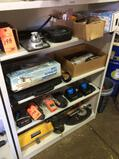 Lot of asst gas detector, and surveying items (CONTENTS OF 1 SHELF UNIT)