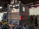 Lincoln IDEALARC DC400 arc welder (HARD WIRED AND MOUNTED ON BRACKETS)