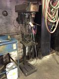 Dayton 3Z567 16 inch pedestal 6-speed drill press, 1 phase