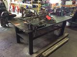 4 X 6 heavy duty steel work/welding table with (2) vises