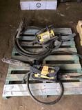 Lot of (2) asst concrete vibrators