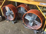 Lot of (3) 26 inch commercial electric drum fans