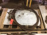 Lot of (2) asst wire rope lifting devices, (1) 4-Way and (1) 2-Way